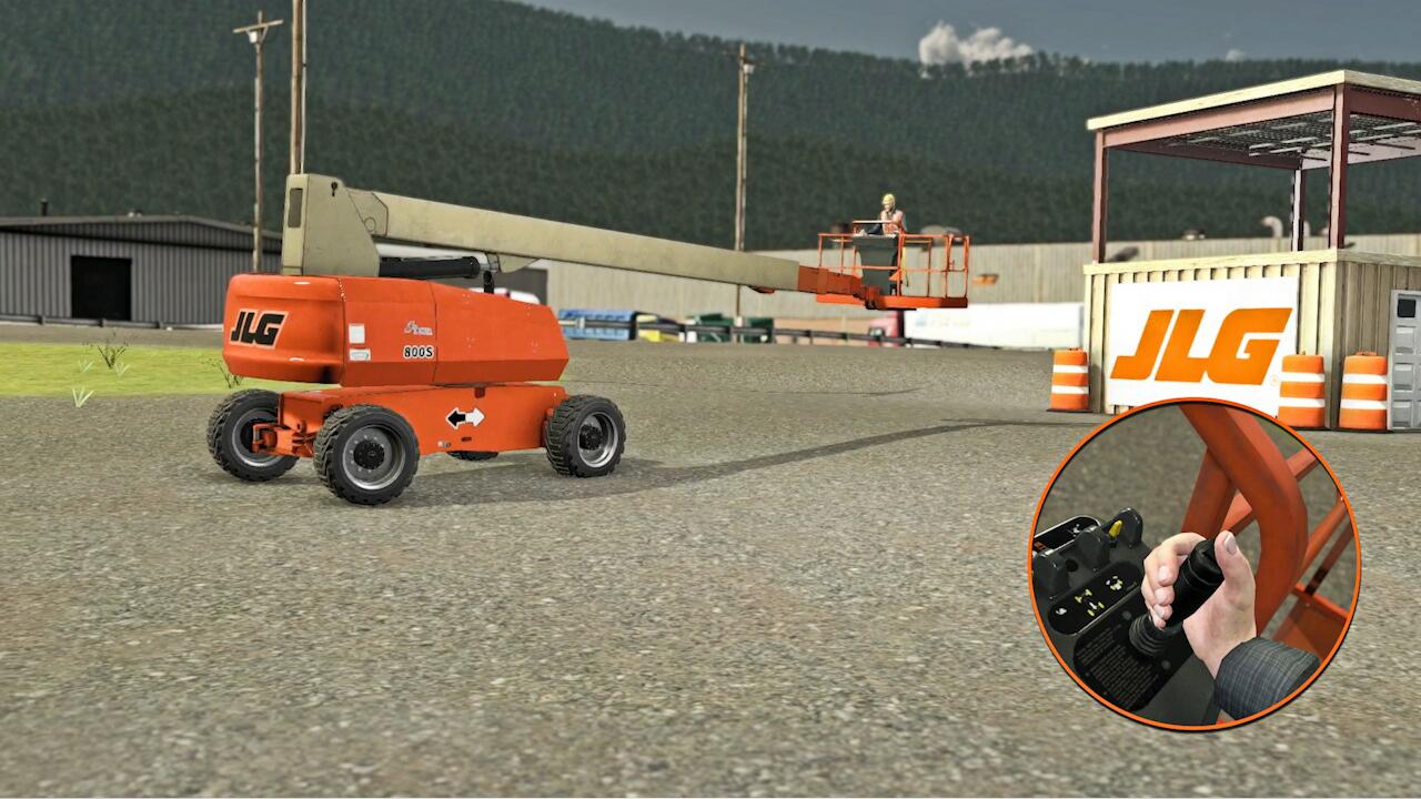 JLG Access Equipment Training Simulator by ForgeFX Training Simulations