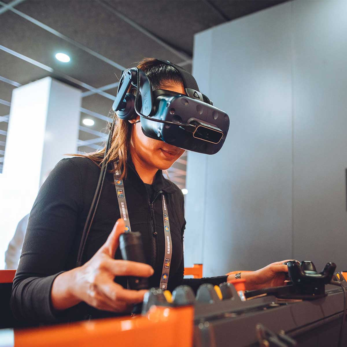 JLG AccessReady Fusion XR Virtual Reality Training Simulator