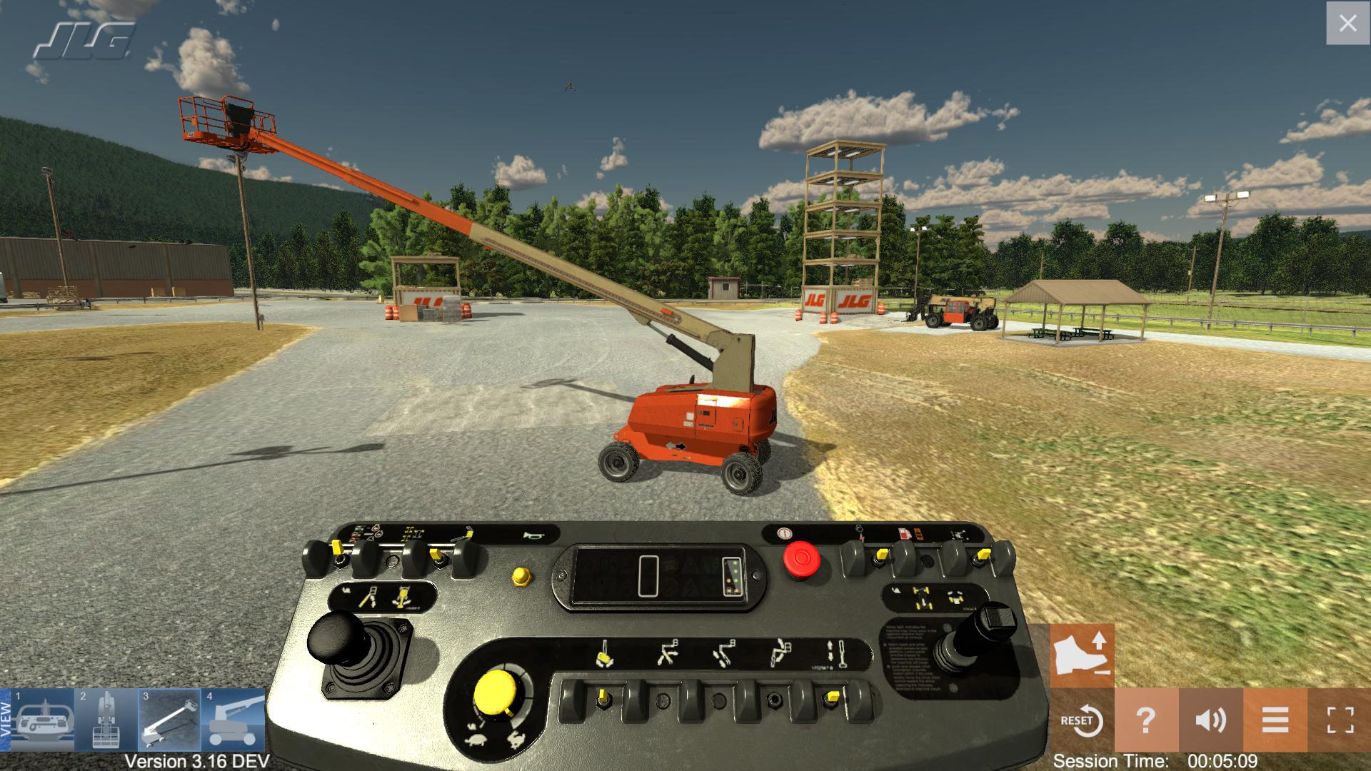 JLG Equipment Training Simulator by ForgeFX Training Simulations