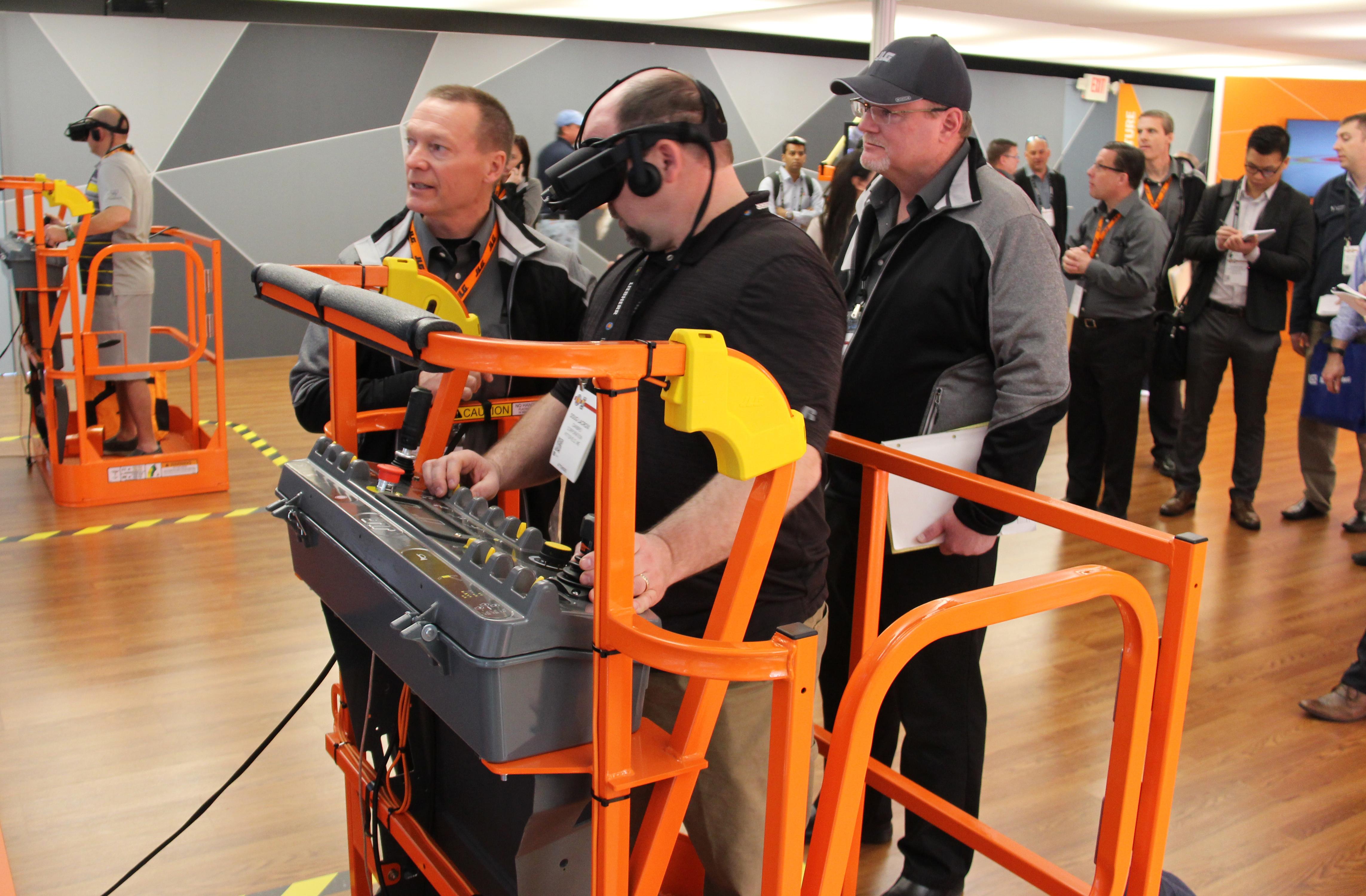 JLG Industries AccessReady Fusion XR Training Simulator