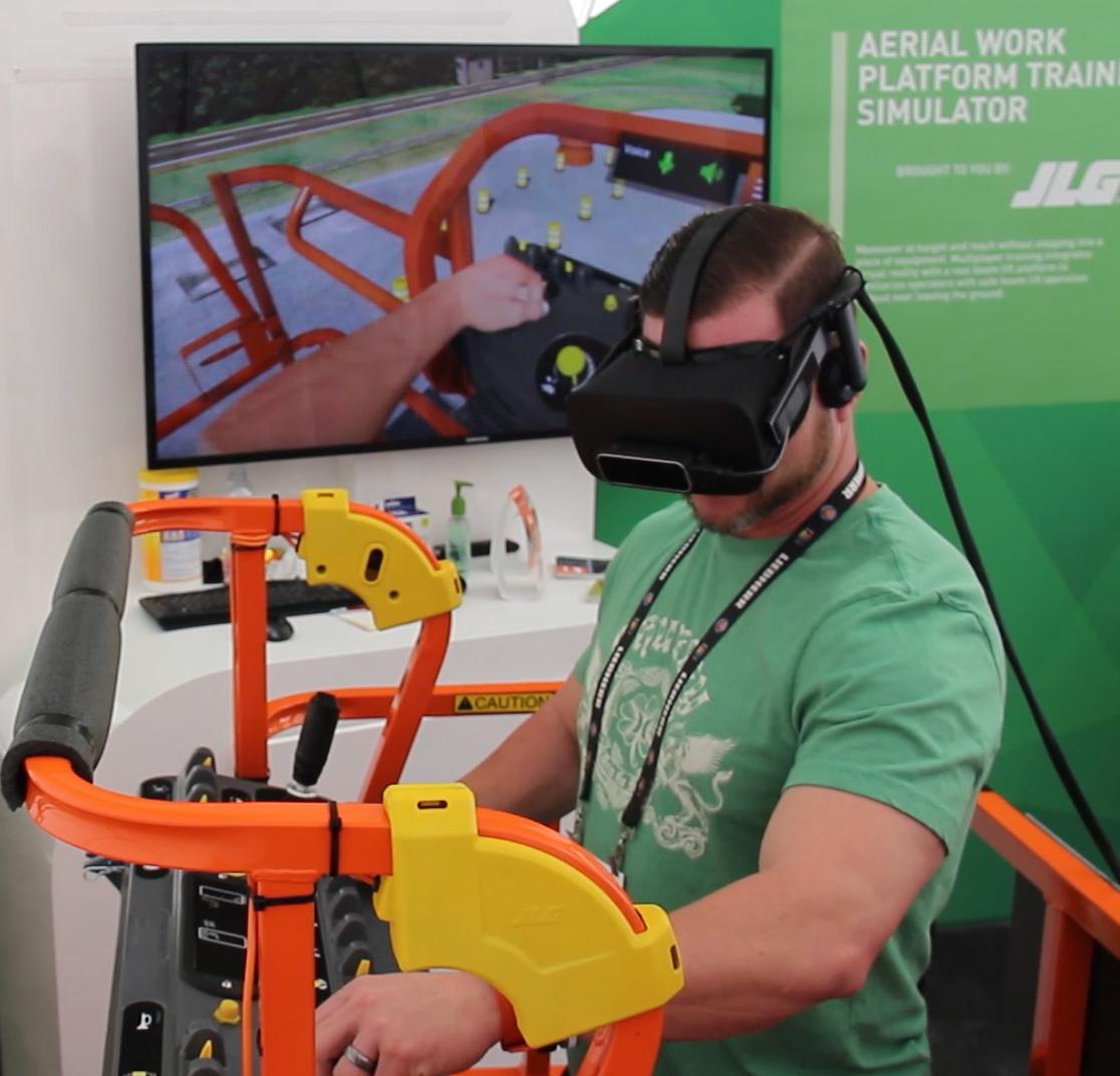 JLG VR Training Simulator by ForgeFX Simulations