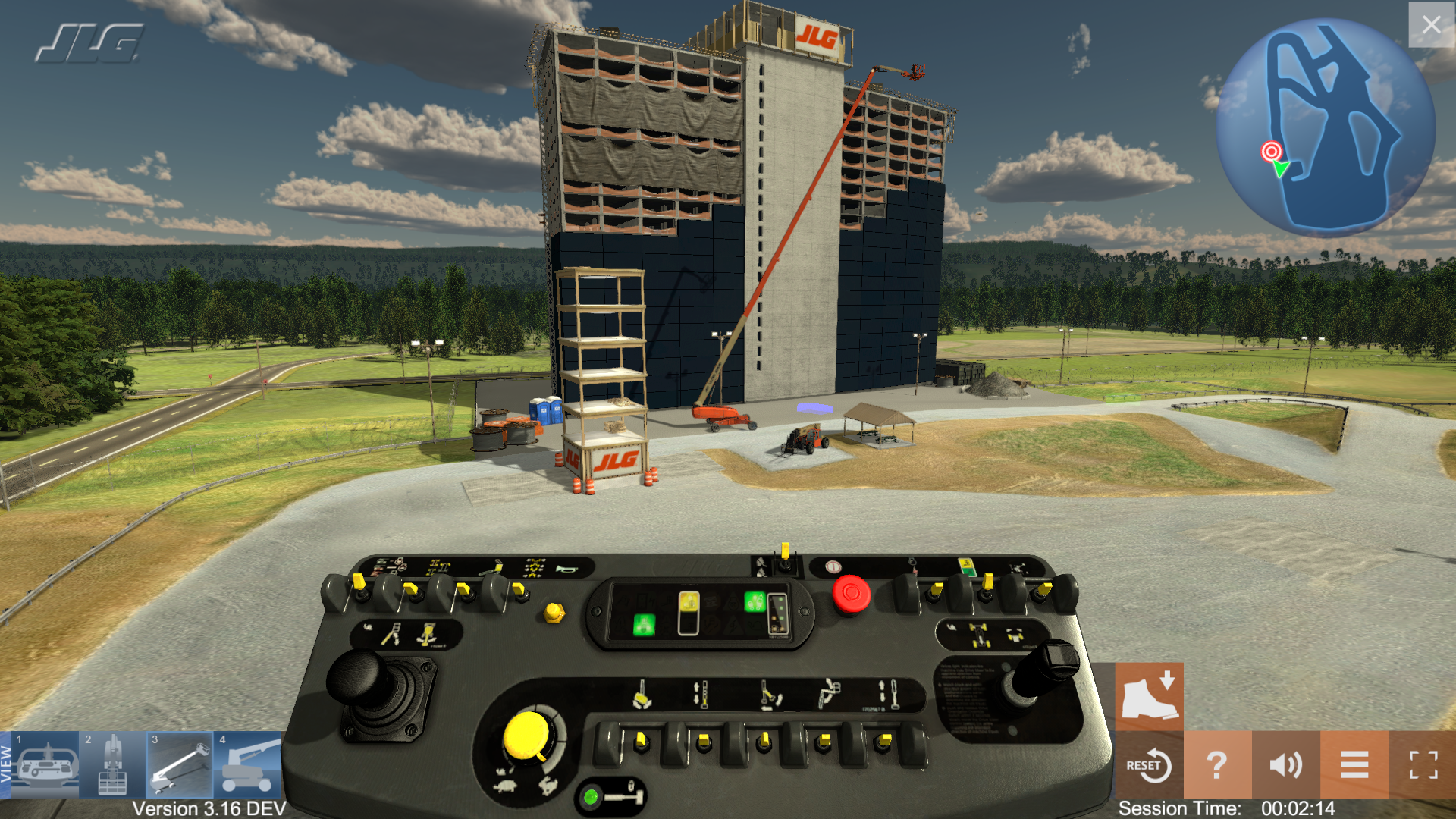 Simulation Based Training by ForgeFX Simulations for JLG Industries