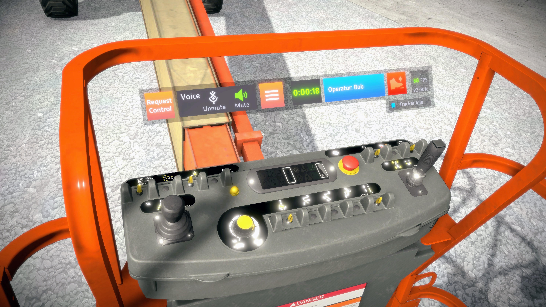 JLG AccessReady Fusion XR VR Controls Familiarization Training