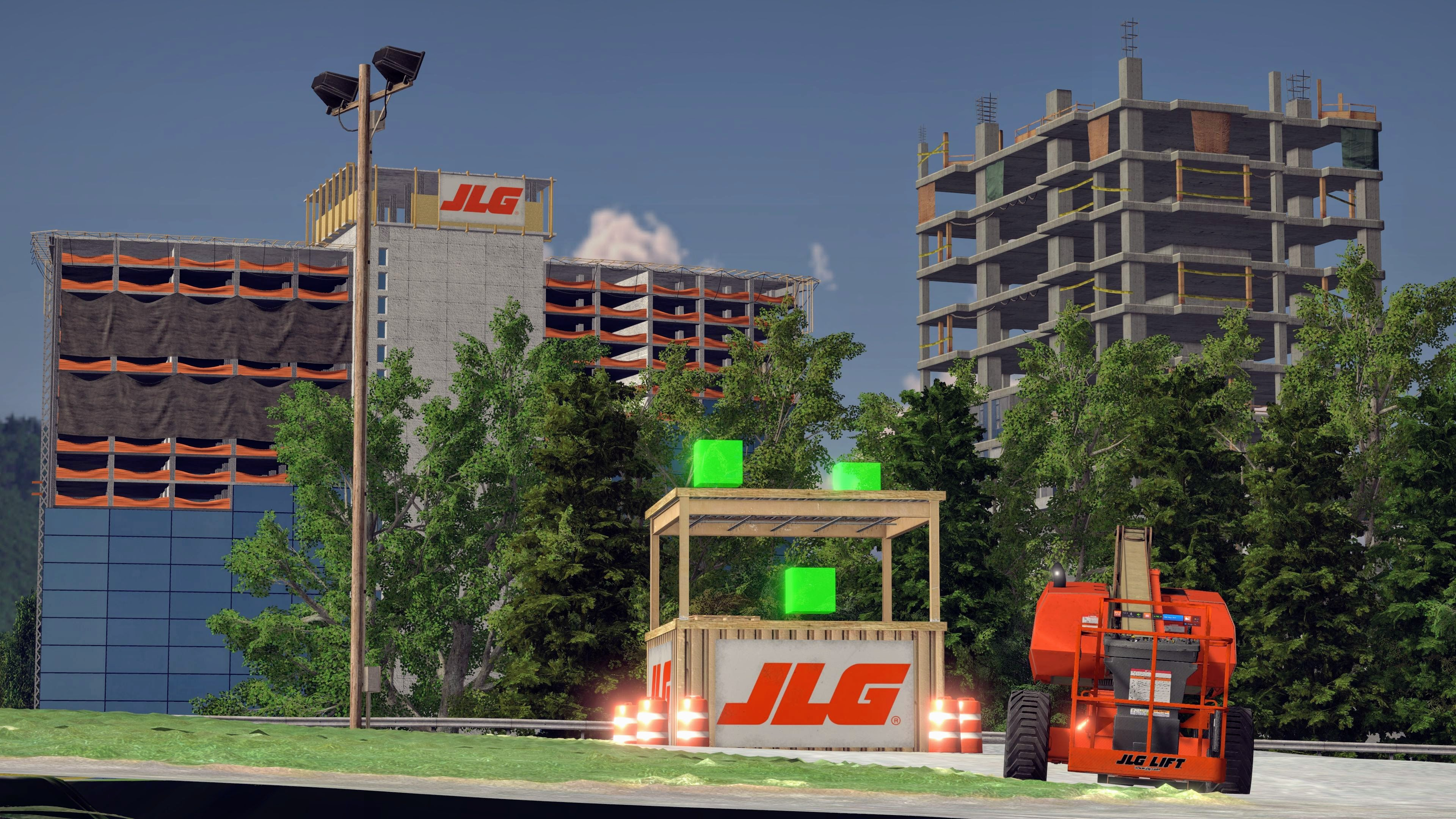 JLG AccessReady Fusion XR Boom Lift Simulator