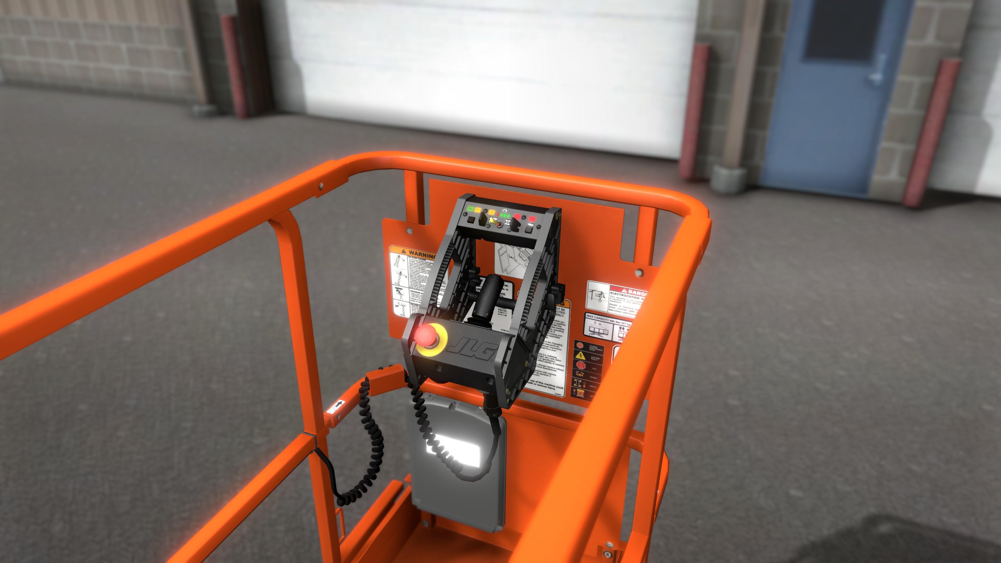 JLG AccessReady Fusion XR Scissor Lift Simulator