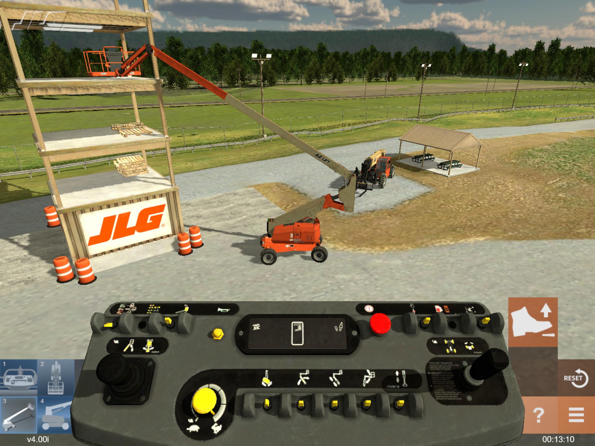 ForgeFX Simulations Equipment Simulator for JLG Industries
