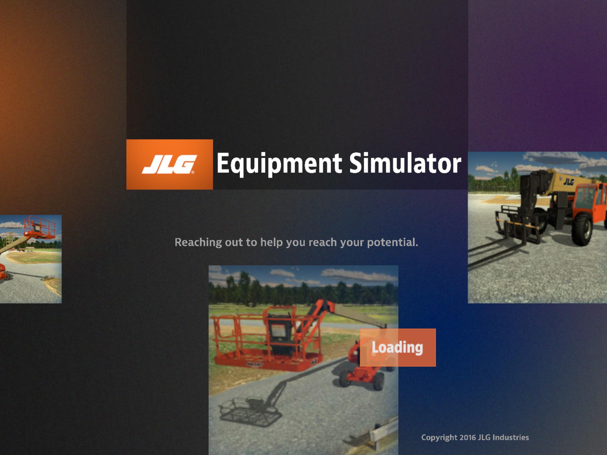 JLG Equipment Simulator by ForgeFX Simulations