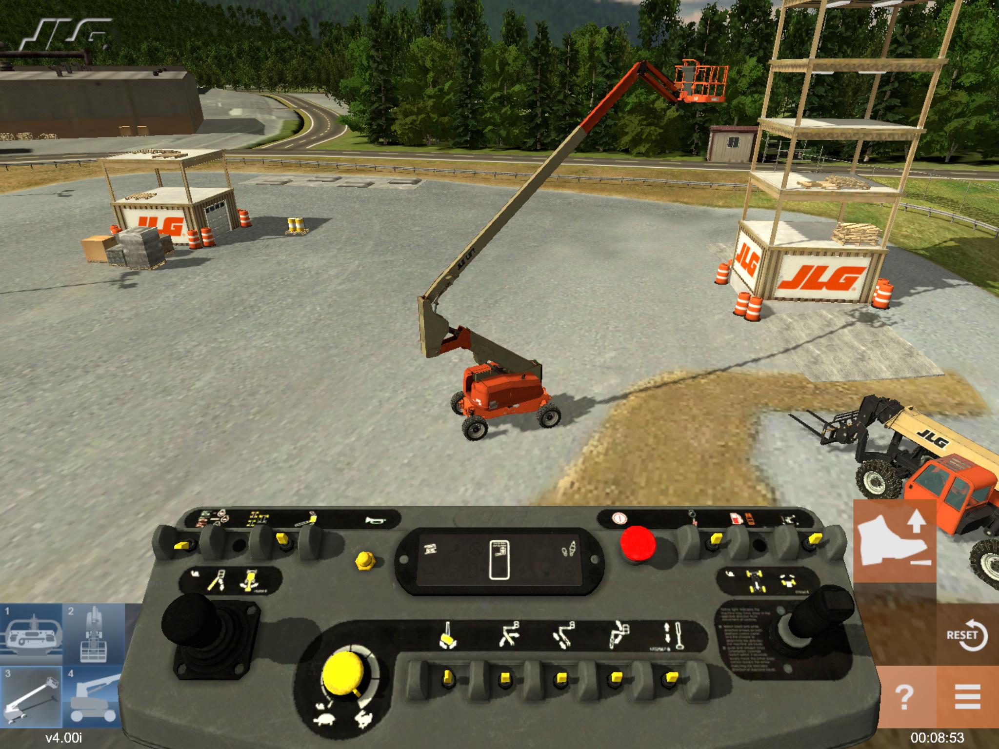 Simulation Based Training for Heavy Equipment Operators