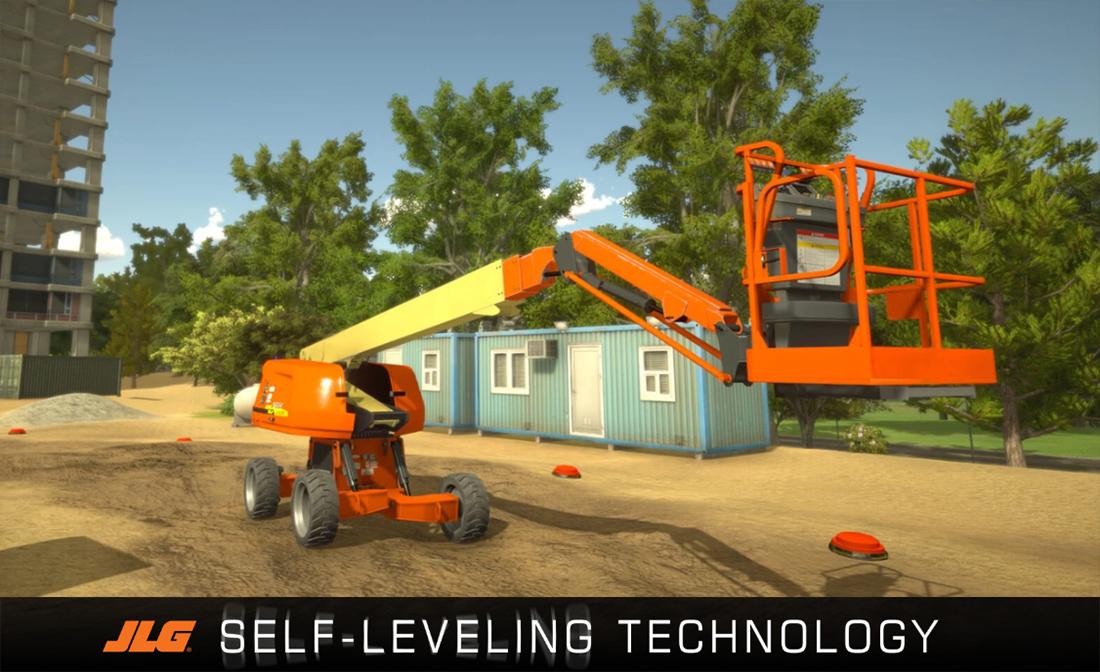 JLG Self-Leveling Technology Training Simulator