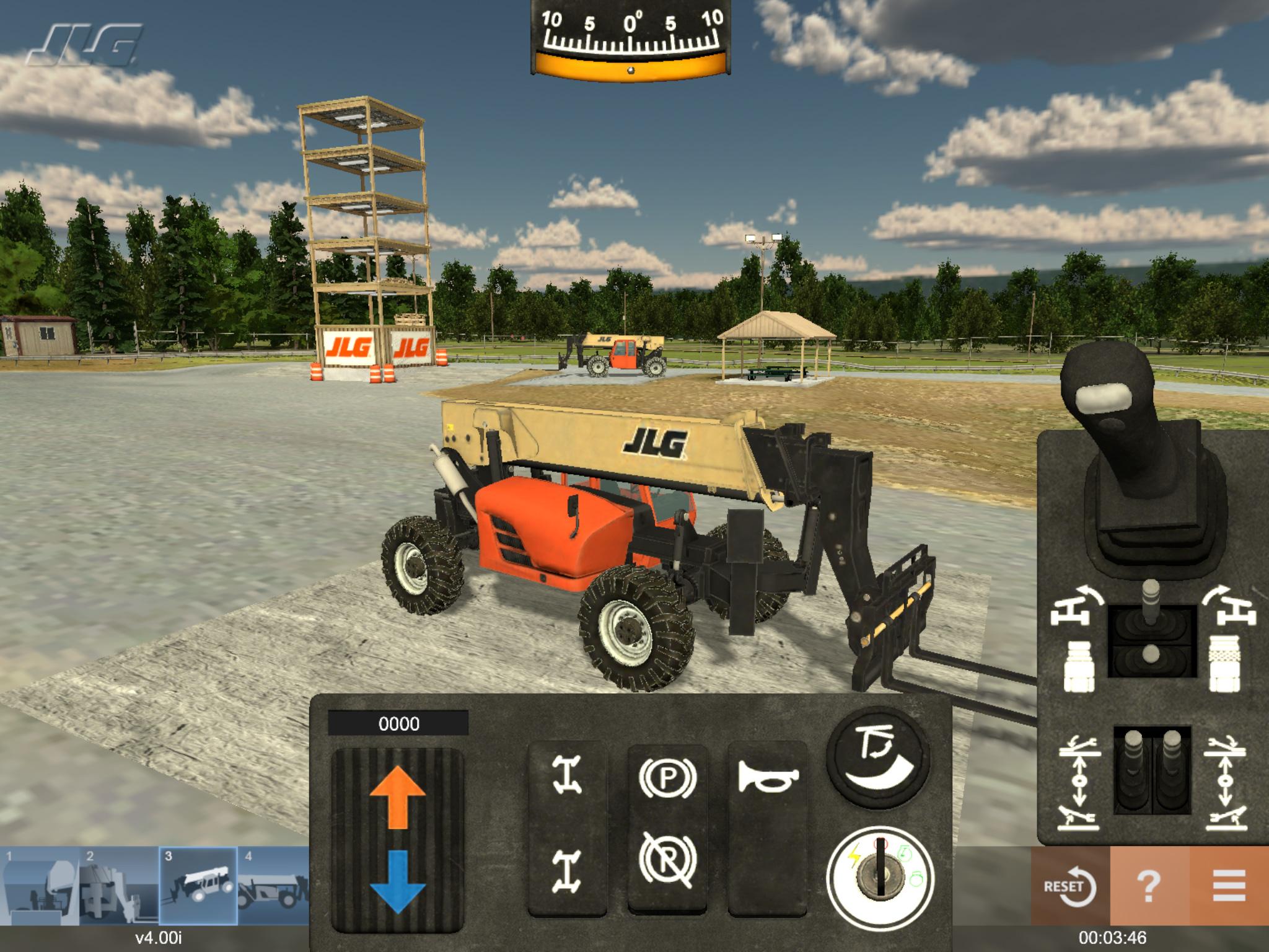 G10 Telehandler Training Simulator