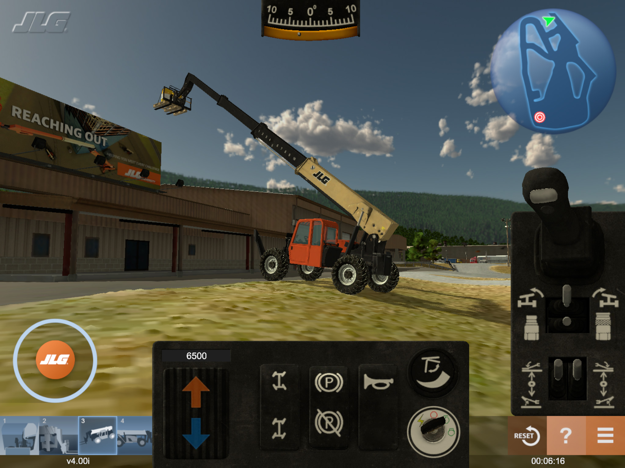 Heavy Equipment Training Simulator