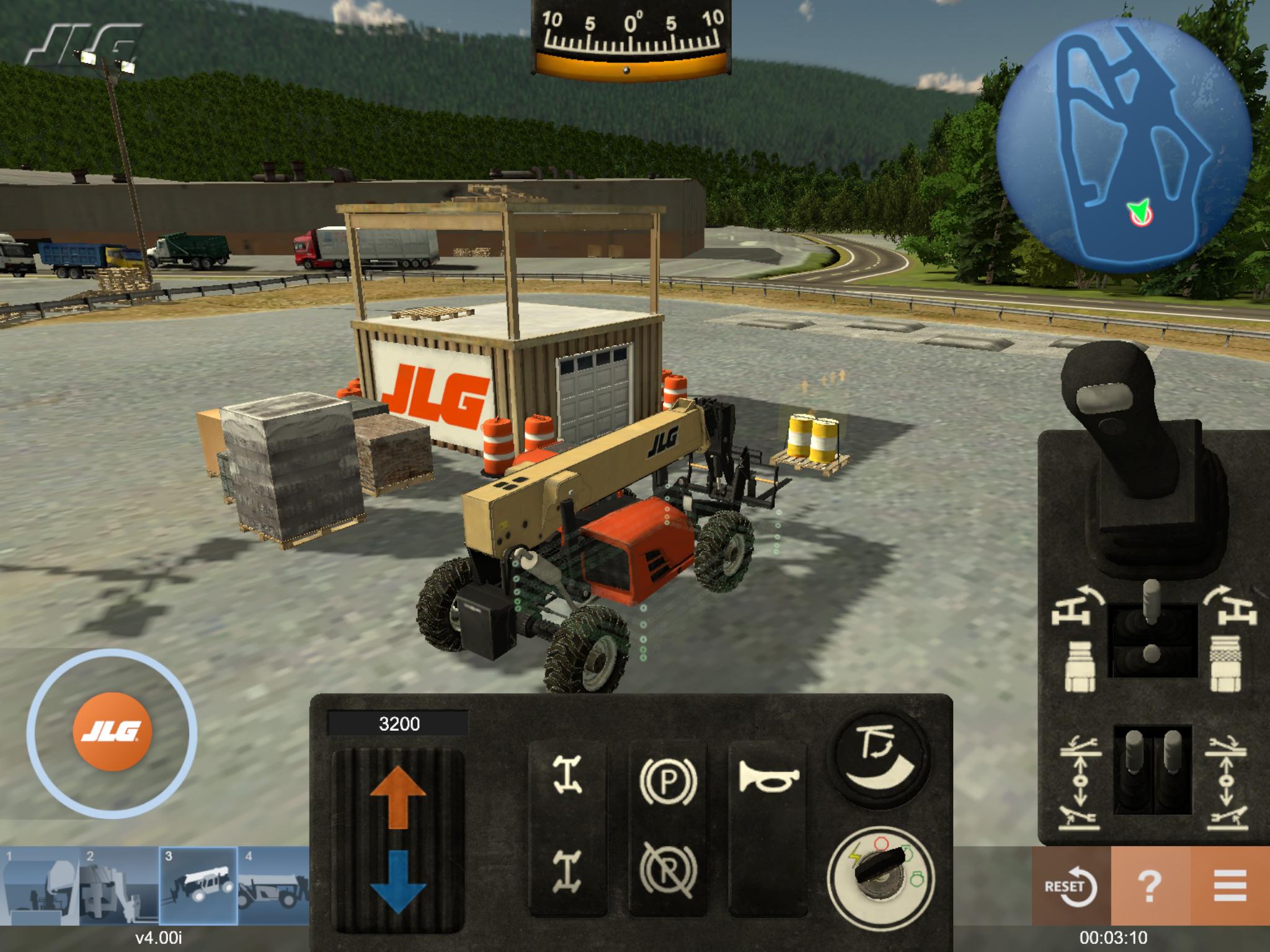 JLG Industries Training Simulator by ForgeFX Simulations