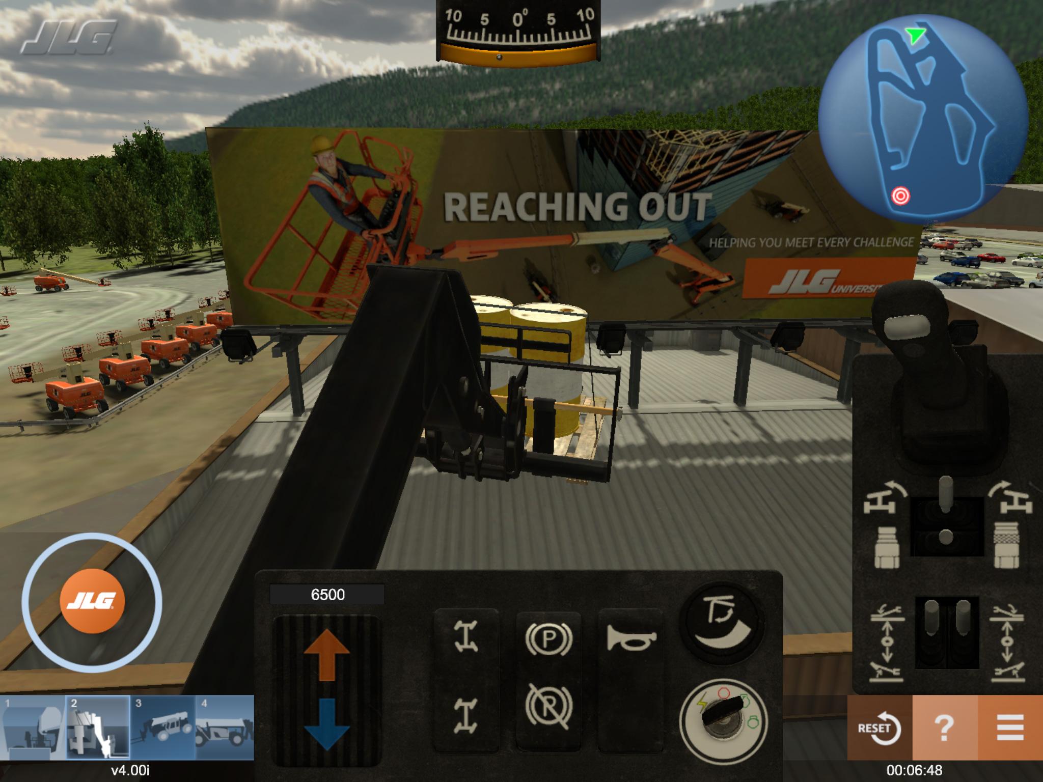 JLG Operator Training Simulator