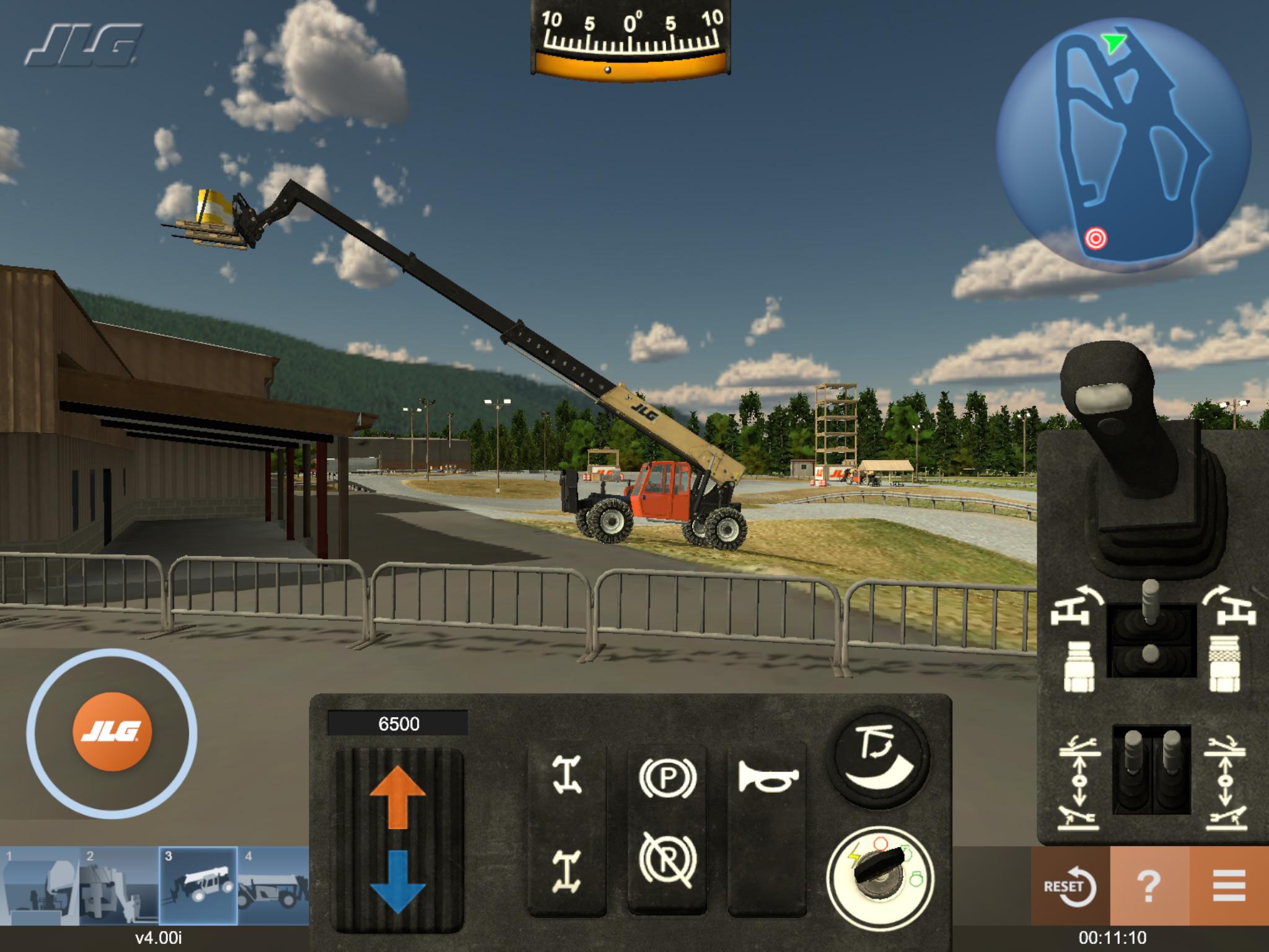 JLG Telehandler Training Simulator