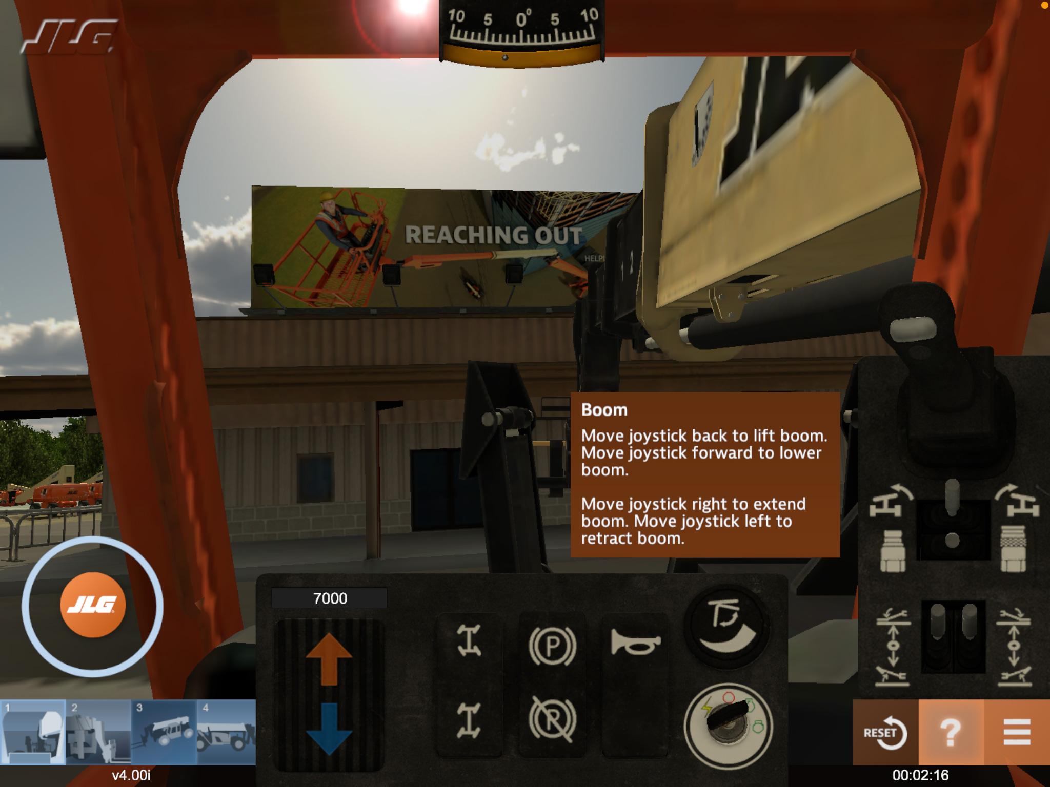 Telehandler Operator Training Simulator