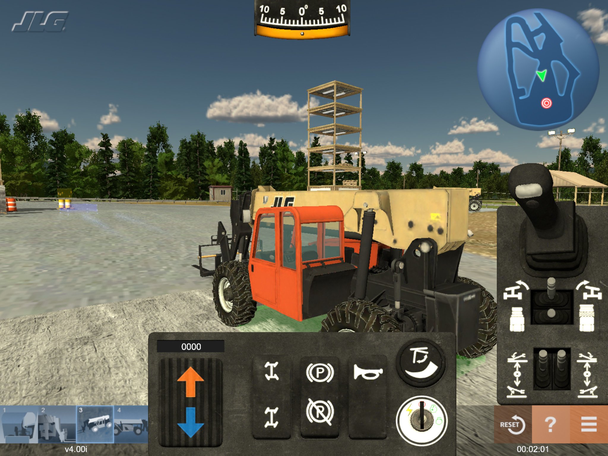 Telehandler Training Simulator