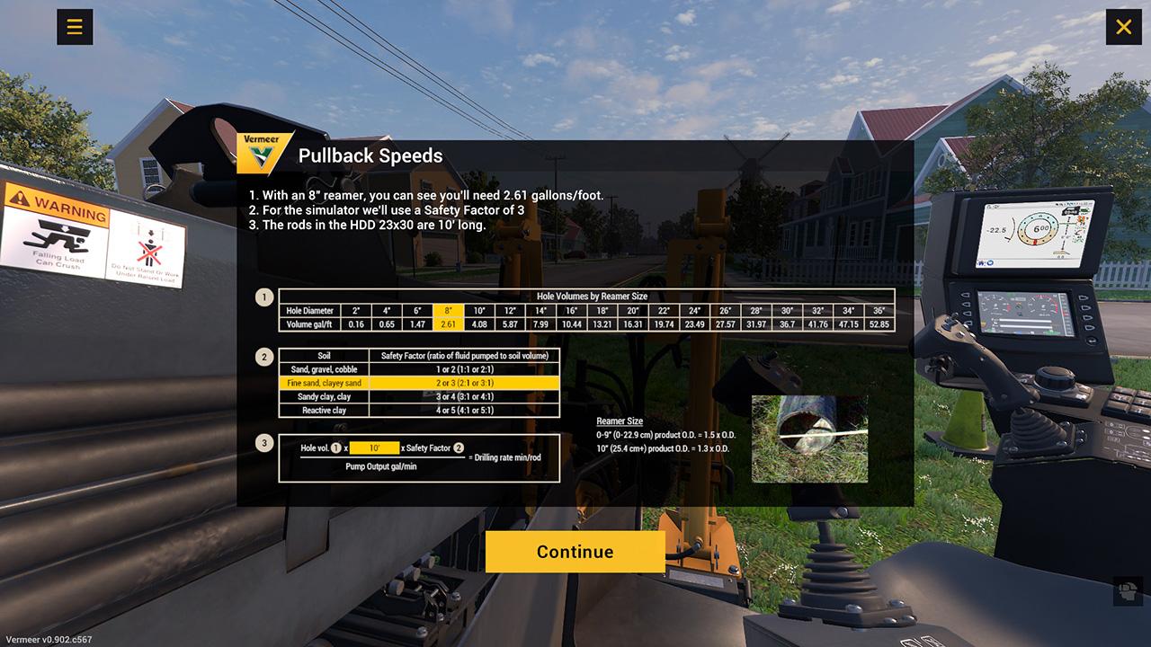 HDD-Training-Simulator-Tutorial-Pullback-Speeds