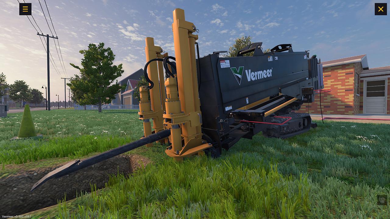 Vermeer Underground Horizontal Directional Drill Training Simulator