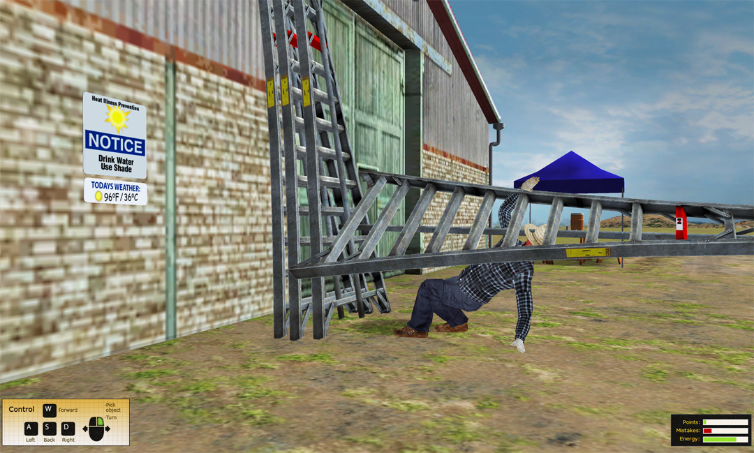 Agricultural Safety Training Simulation