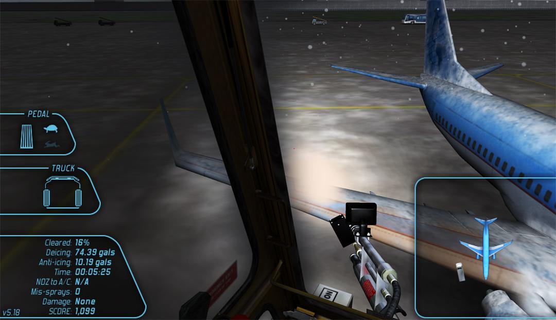 Aircraft Deicing Simulator