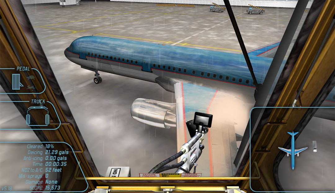 Aircraft Deicing Training Simulation