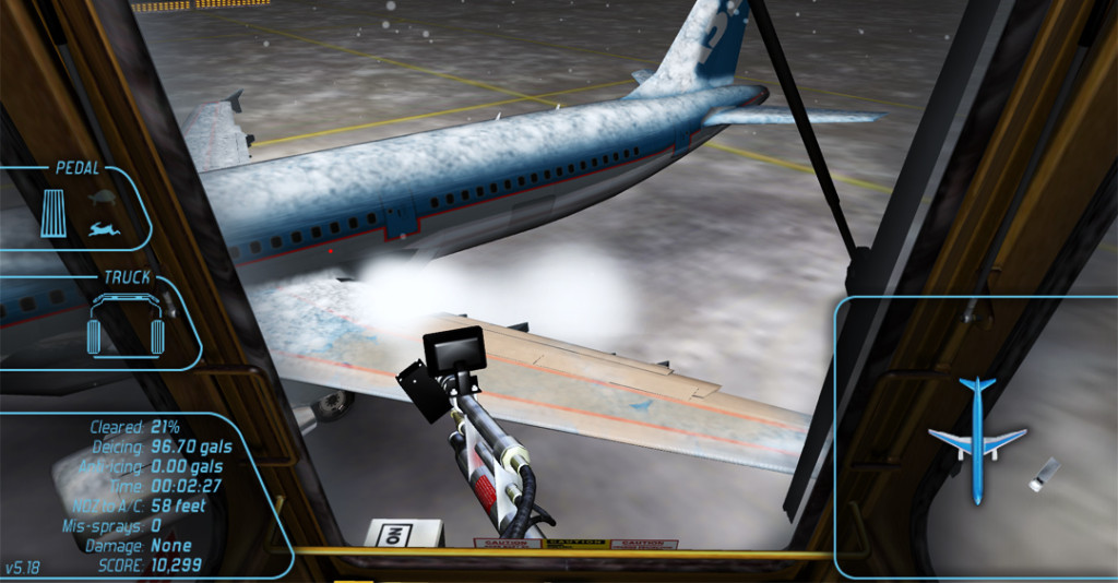 Aircraft Deicing Training Simulator