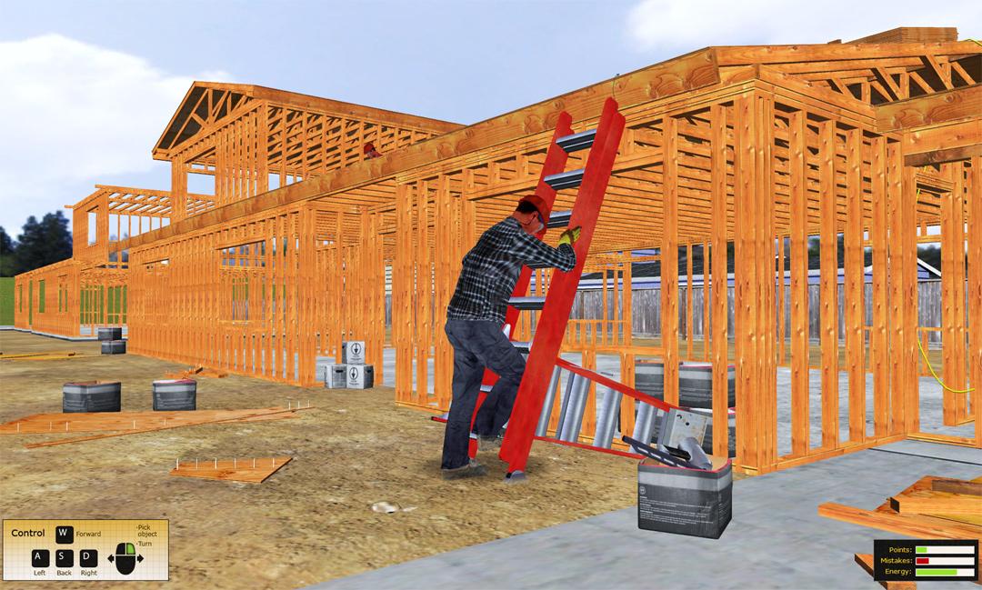 Construction Safety Training Simulation