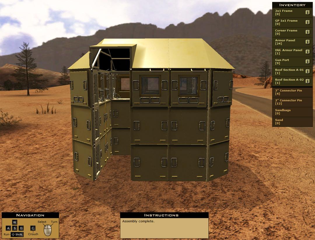 Equipment Training Simulator