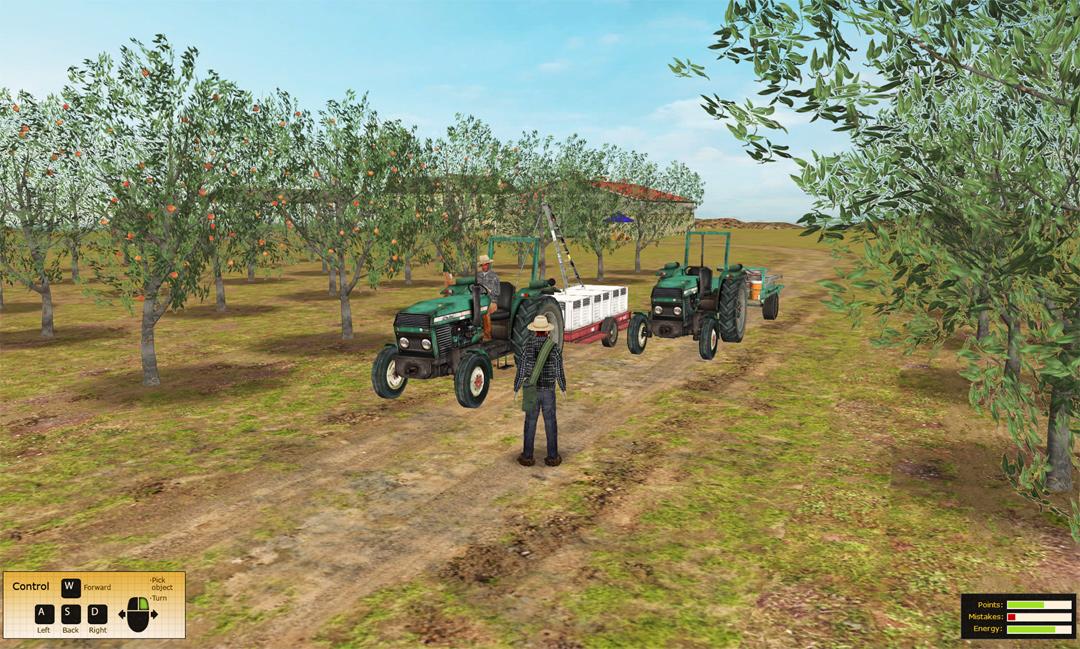 Fruit Packing Safety Training Simulation