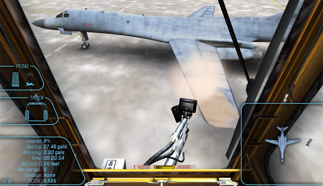 Aircraft Deicing Training Simulator