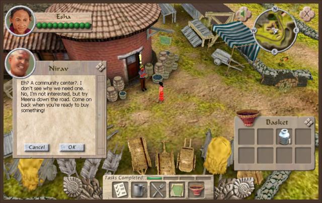 Heifer International Virtual Village Educational Simulation