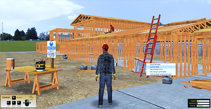 Industrial Safety Training Simulation
