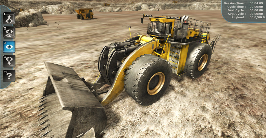 P&H L-2350 Wheel Loader Training Simulator