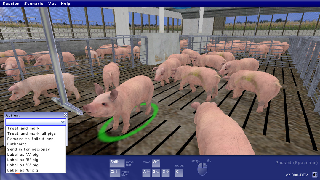 Livestock Production Training Simulator