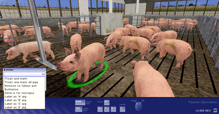 Livestock Management Training Simulator