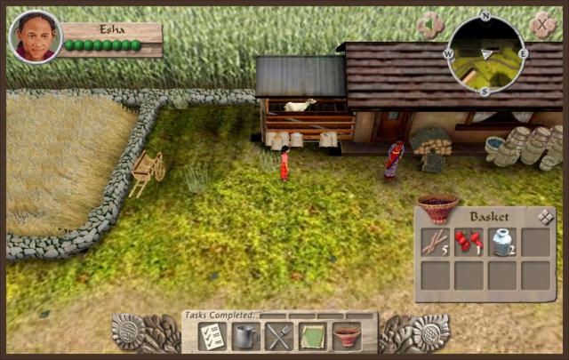 Simulation-Based E-Learning Game