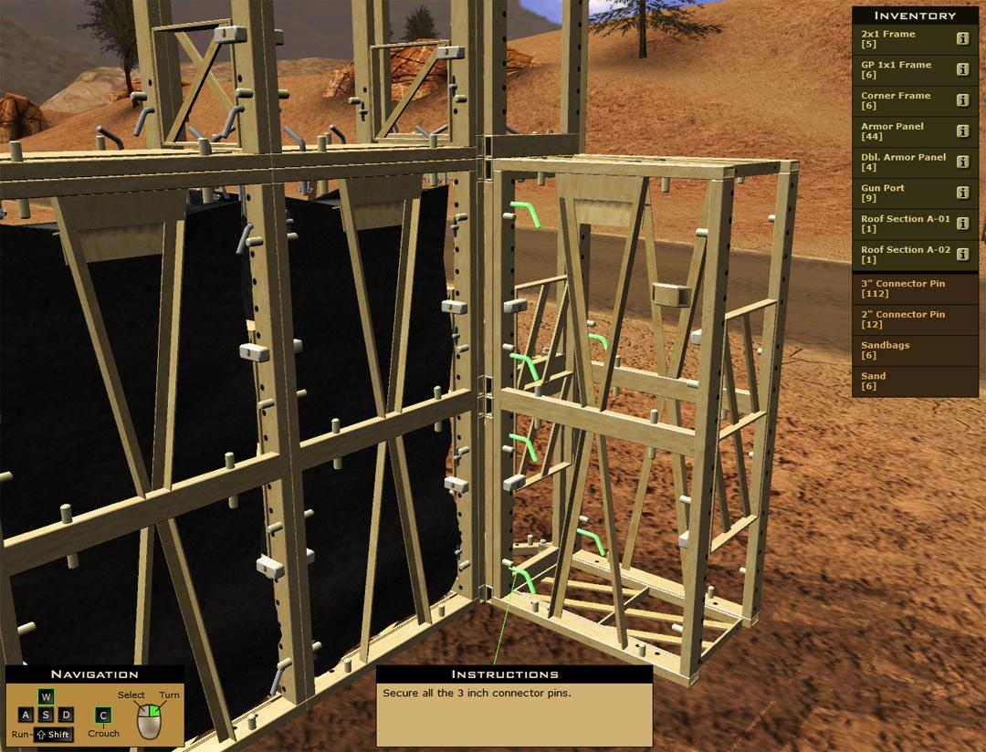Simulation-Based Equipment Training Simulator
