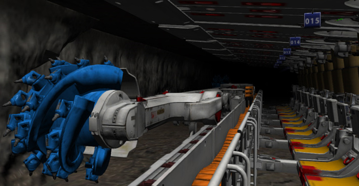Joy Global Underground Mining Longwall Simulator