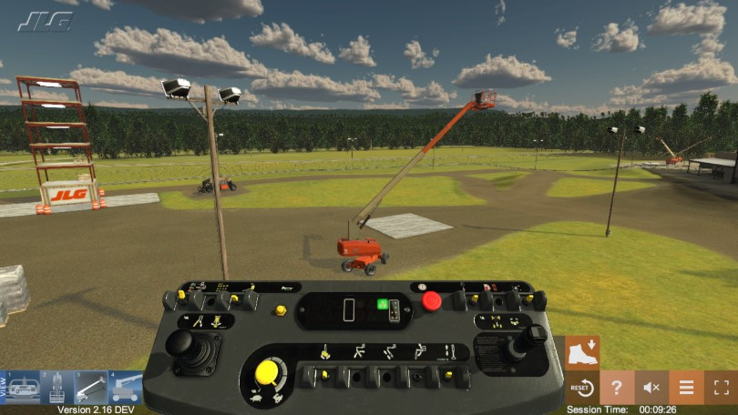 Aerial Boom Lift Training Simulator