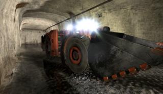 ForgeFX Simulations Underground Mining Simulator for Komatsu