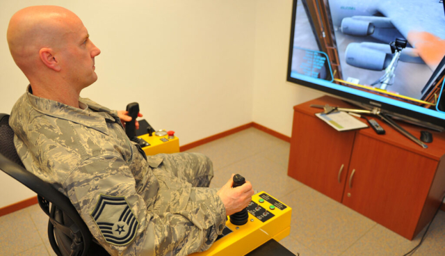 Air Force Mobility Squadron Aircraft Deicing Simulator