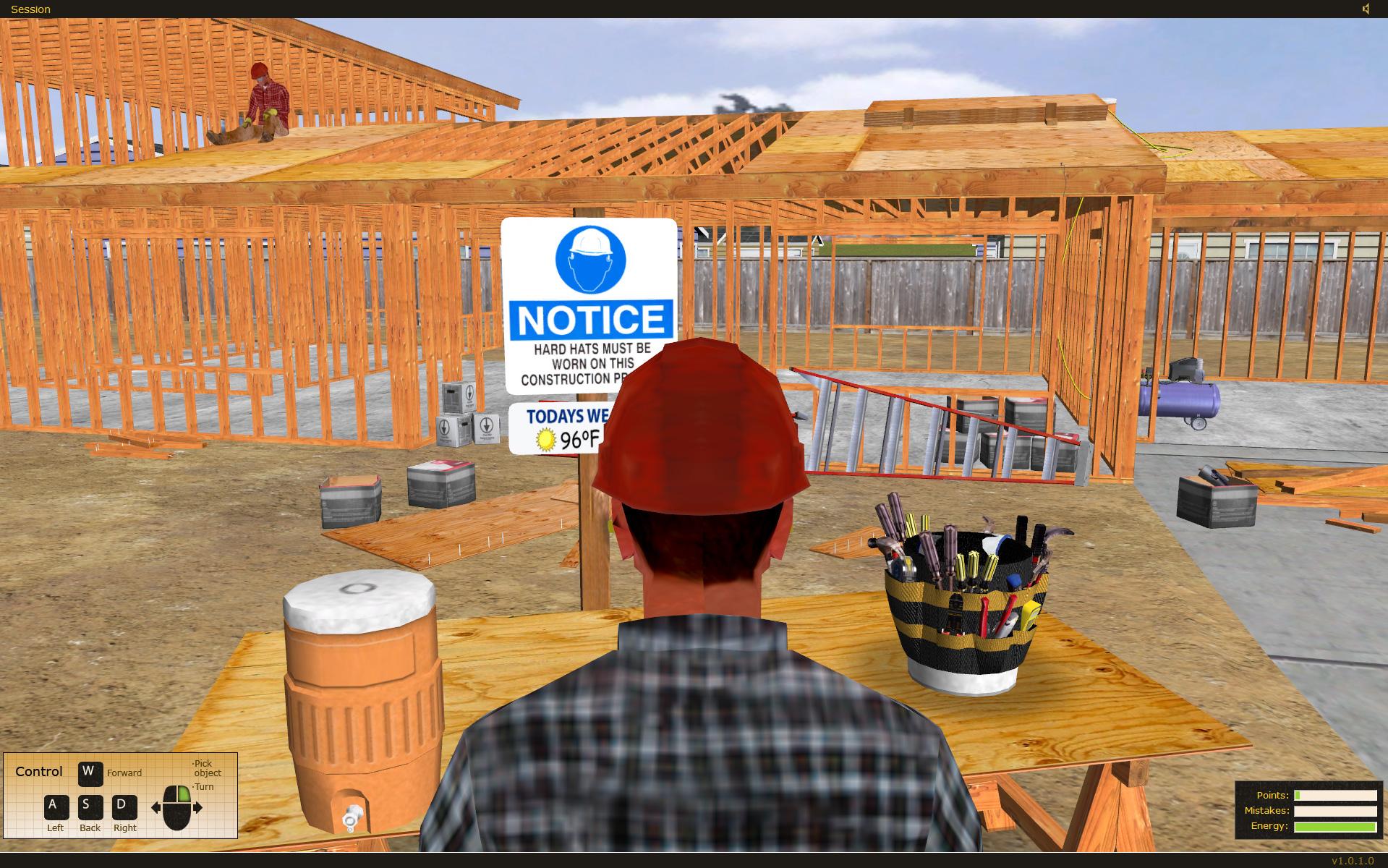California State Compensation Insurance Fund HazOps Safety Training Simulator