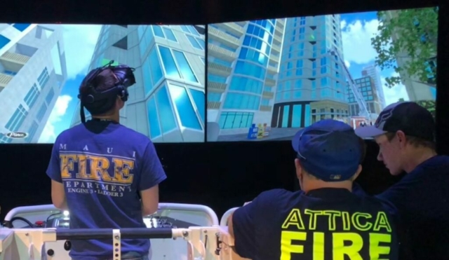 Pierce Manufacturing Fire Truck Operator Simulator by ForgeFX Simulations