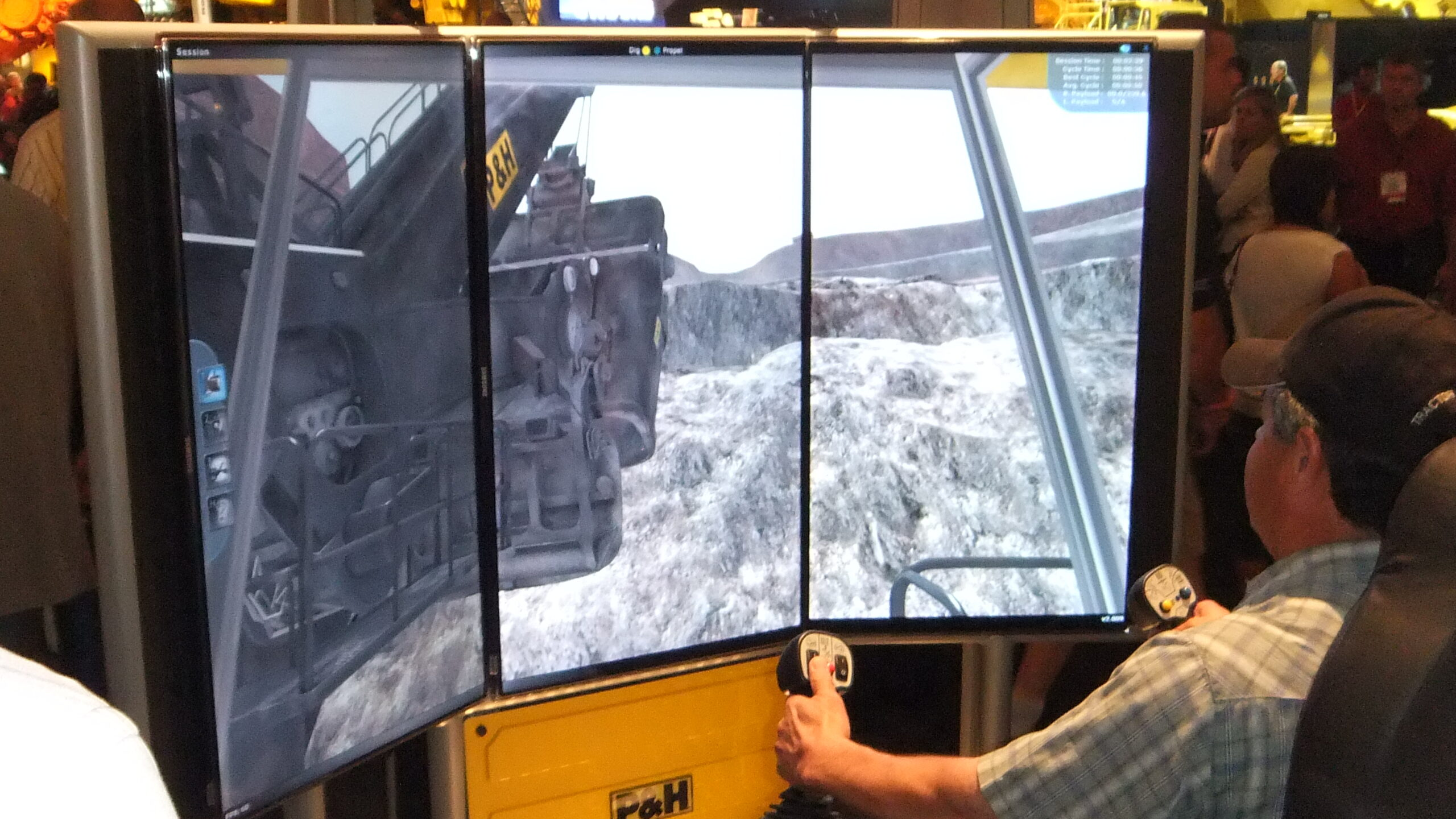 Komatsu P&H Mining Electric Rope Shovel Training Simulator by ForgeFX Simulations
