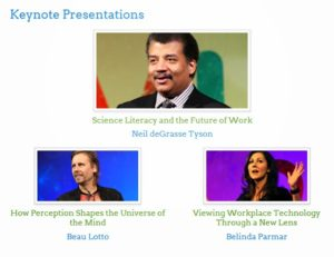 DevLearn 2014 Video Recordings of Keynote Presentations