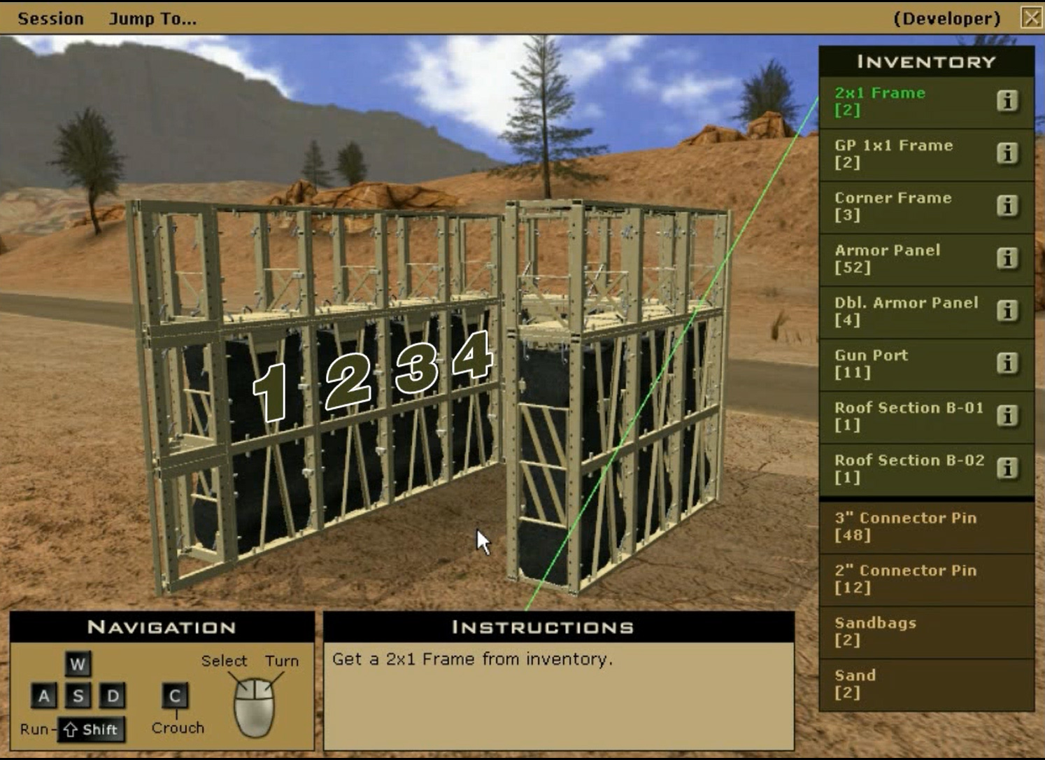 McCurdys Armor virtual assembly instruction software.
