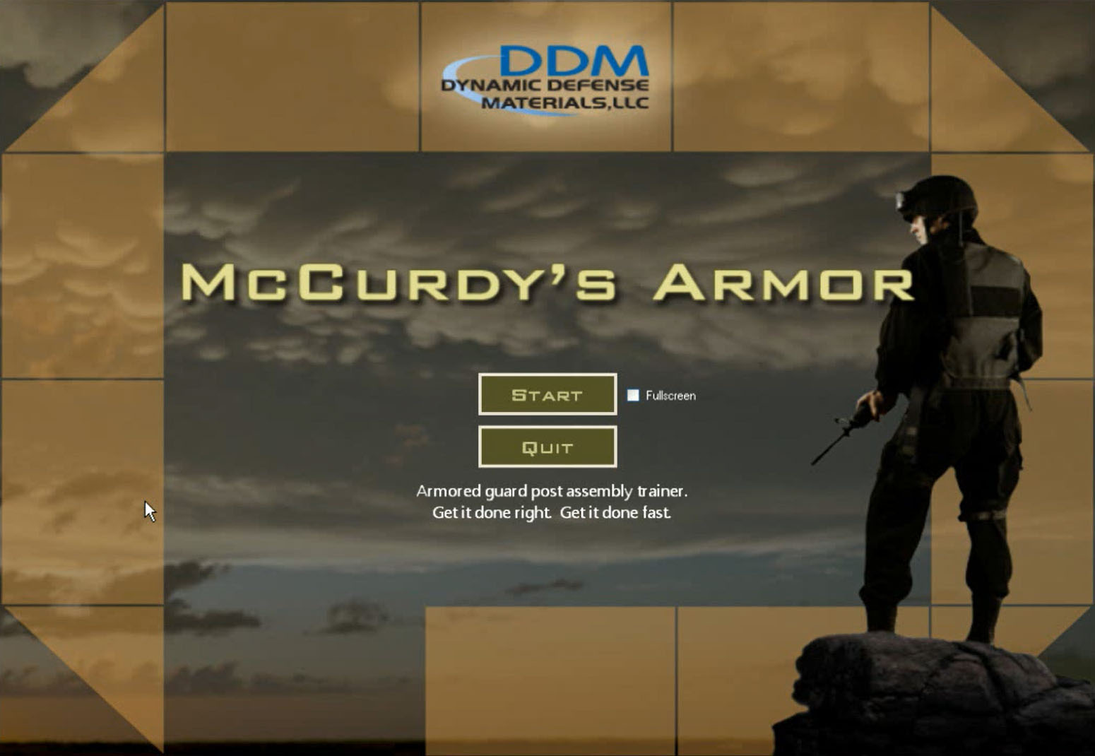 Dynamic Defense Materials, McCurdys Armor, by ForgeFX Simulations