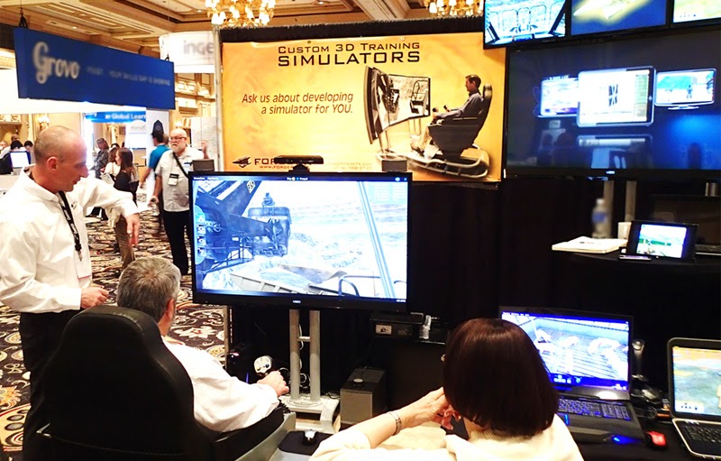 ForgeFX Simulations Booth DevLearn 2014