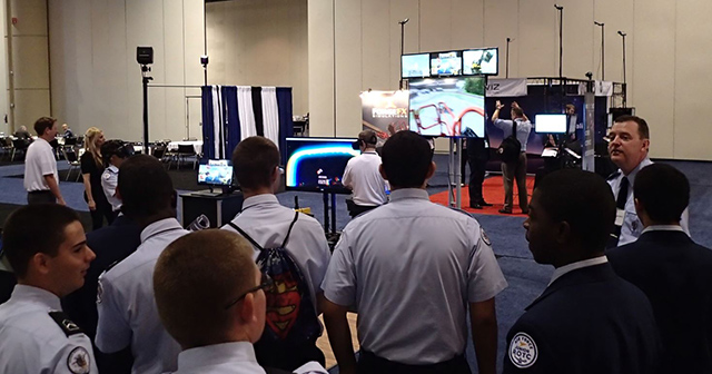 Air Force ROTC Juniors with ForgeFX at I/ITSEC 2016