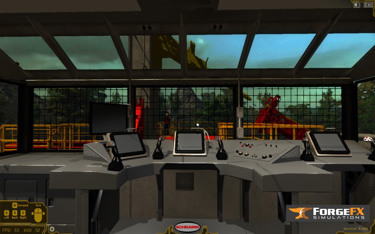 Drilling Rig Operator Training Simulator